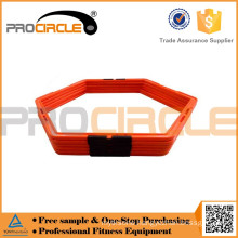 2017 Hot Selling PVC Football Soccer Agile Circle Hex Speed Agility Rings