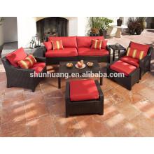 Wholesale cheap good quality rattan furniture wicker sofa chair