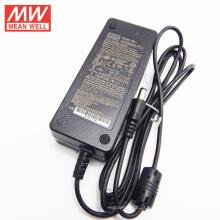 Adaptador meanwell EUA effi energia Nível VI 3 anos de garantia 60watt 24vdc adaptador de energia 2.5amp GST60A24-P1J