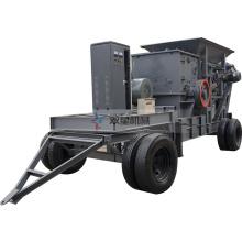 Máquina móvel industrial do equipamento do triturador