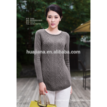 fashion embroidery woman's red cashmere sweater
