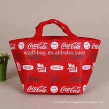 Promotional Oxford Cooler Bag Cheap Polyester Cooler Tote Bag For Food Insulated