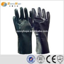 Sunnyhope preto segurança segurança química luvas de segurança