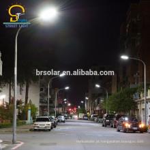 poste de luz de rua antigo design exclusivo Q235 dupla lâmpada