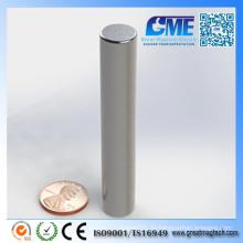 Superior N40 NdFeB D12.7X76.2mm Zylinder Magnete