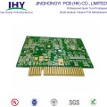 10 Layer HASL Gold Finger PCB Red Solder Circuit Board