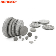 custom porous sintered stainless steel 316 316L bronze filter synthetic filter disc  for industrial and oil filtration
