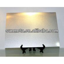 Yiwu sunmeta Factorysublimation fiche technique en métal