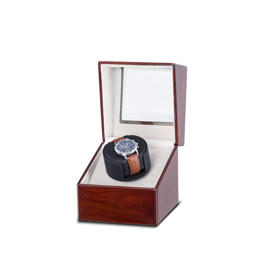 class red wood watch winder