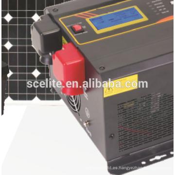 Sistema de generador solar: potencia del inversor solar 3KWH / Day
