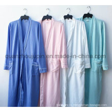OEM Hot Sale Colorful Polyester Hotel Bathrobe