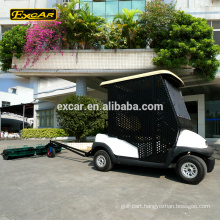 Customize 2 seater electric golf cart ball pick up cart golf ball picker