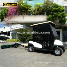 Personalizar 2 seater carrinho de golfe elétrico bola pick up carrinho bola de golfe selecionador