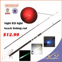 LLR001New nightlight beach llevó la caña de pescar ligera con luz de punta incorporada