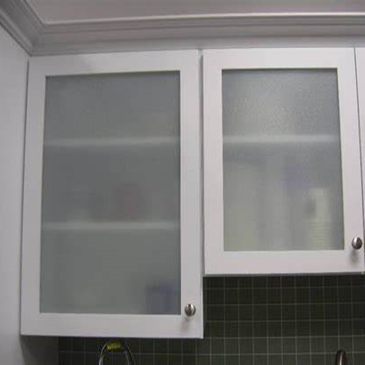 Frosted Tempered Cabinet Door Glass