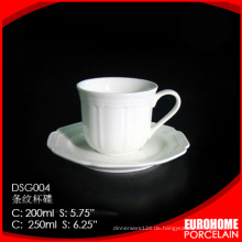 Online Großhandel neue Produkt China billig Kaffeetasse und Untertasse