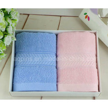 100% Combed Cotton Towel with Logo (AQ-026)