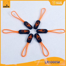 New Style with Logo Plastic Zipper Puller for Luggage LR10005
