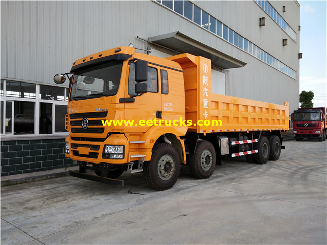 SHACMAN 8x4 30 Ton Tipper Trucks