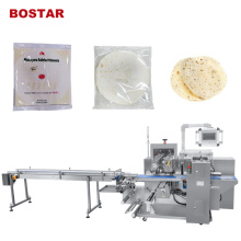 Автоматическая упаковочная машина для хлеба для пиццы из пуховой бумаги