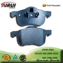 SEMI-METALLIC CAR BRAKE PAD FOR VOLVO S60 2000-2010 S80 1998-2006