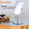 Rectangle Copper Mirror Double Side Bathroom Makeup Loupe Mirror