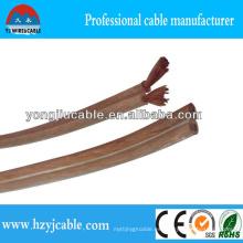 Libre de oxígeno de cobre 2 * 4 mm Cable de altavoz de radio Cable paralelo Cable eléctrico