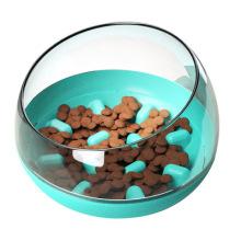 Новый стиль Safe Material Puzzle Наклоненная миска для домашних животных
