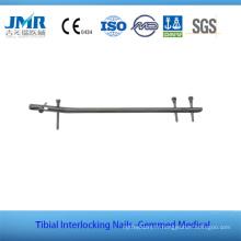 CE marqué Chine Entièrement stocké des ongles tibiaux intramédullaires