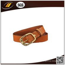 Cinturones de cuero verdaderos de las señoras clásicas de la alta calidad