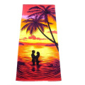 Thin Beach Microfiber Towel with 3d Printing Photo