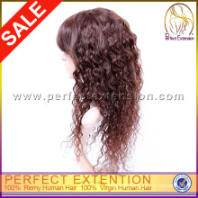 For White Women Brazilian Virgin Remy Kinky Curly Human Hair Wig
