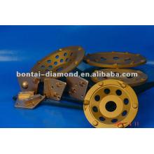 PCD paint grinding wheel 100mm 125mm 180mm