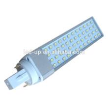 SMD 2835 luz del maíz 2pin LED G24 bombilla 52LEDs 10W