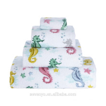 Seahorses Towel ,Hand Towel,Bath towel Ht-057