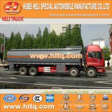 FOTON 8x4 28CBM plastic tank truck for sale , china factory supply