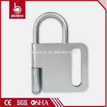 BOSHI steel lock hasp BD-K31, 4 cadenas autorisés, padlock hasp avec CE