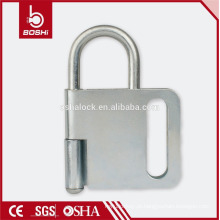 BOSHI steel lock hasp BD-K31, 4 cadeados permitidos, padlock hasp com CE