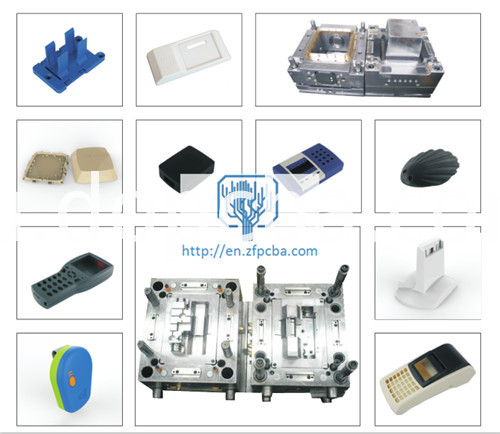 Injection mold and plastic parts