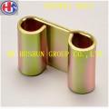 Custome Carbon Steel Plate Stanzteile mit Zinkbeschichtung Farbe (HS-PS-001)