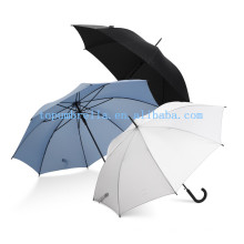 Кривая ручка дождевик прямой зонтик