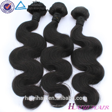 Paquete de cabello sin procesar malasia Remy de la onda del cuerpo