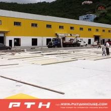 2015 entrepôt de structure métallique sur mesure préfabriqué