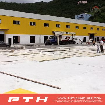 Armazém de estrutura de aço bem desenhado (PTWW)