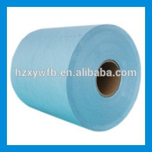 Cross Lapping/Parallel Spunlace Polyester & Cellulose Nonwoven Fabric