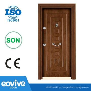 Puertas blindadas madera acero turcos