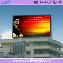 Diodo emissor de luz fixo digital alto exterior do diodo emissor de luz da cor completa do brilho P10 / eletrônico para anunciar