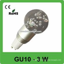 CE & ROHS 3w AC 85v-265v RGB folgen Spot Glühbirnen gu10,3 Jahre Garantie