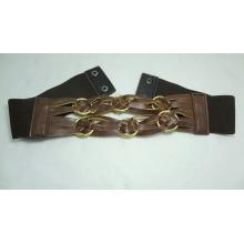 wide fashion women dress elastic belt