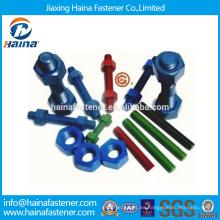 China Surtidor del surtidor de la alta resistencia DIN975 lleno del hilo de rosca con la superficie del teflón